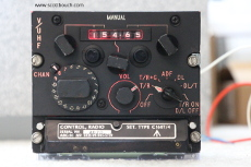 PTR-175 Control Unit C1607/4 Illuminated red in darkened room